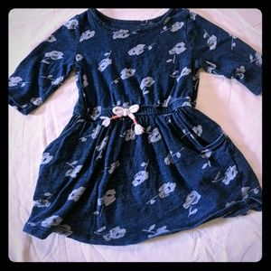 Cat & Jack Crewcut 18M Flower Dress